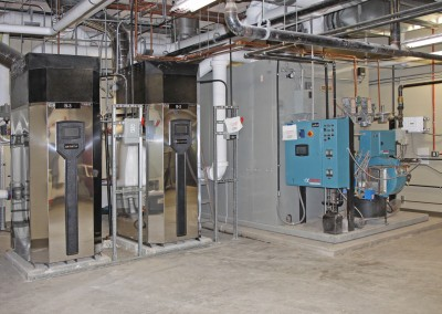 Sidney Regional Hospital.  Hybrid Boiler Plant with Camus and Bryan Boilers