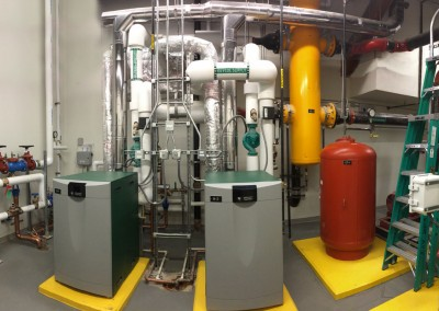 Spirotherm Quad and Peerless Condensing Boilers